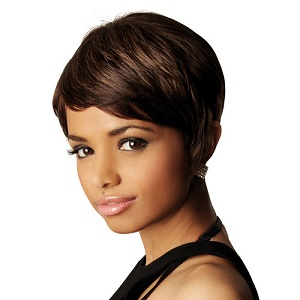 Sleek Human Hair Audrey Wig